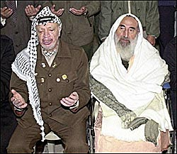 yasser arafat and his political allies
